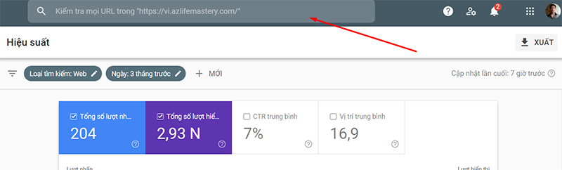 Google Search Console, enter a new URL and submit it for faster indexing.